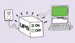 UPS 1000VA đủ sử dụng thoải mái cho máy tính văn phòng