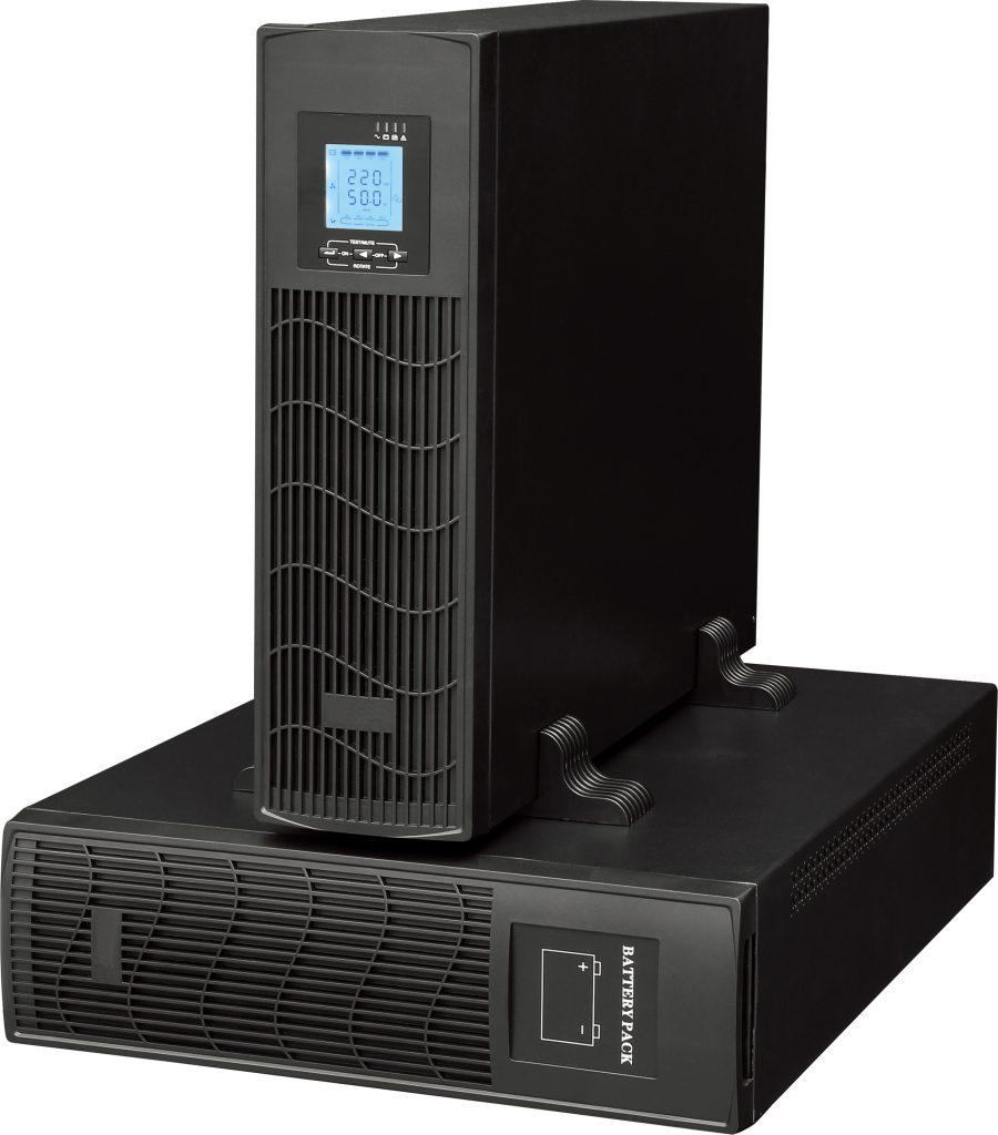 UPS online thương được sử dụng cho máy chủ hay trung tâm dữ liệu...