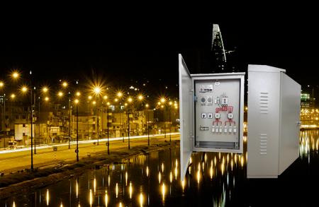 Tủ điện chiếu sáng công nghiệp có thể được lắp tại những nơi công cộng