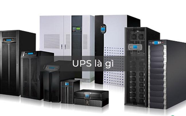 Thiết bị UPS rất quan trọng