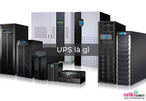 UPS là thiết bị lưu trữ điện năng