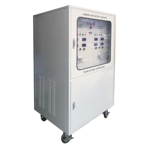 Cung cấp nguồn DC là chức năng cơ bản nhất của tủ nạp ắc quy công nghiệp